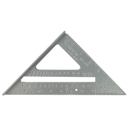 "7"" aluminum speed square"