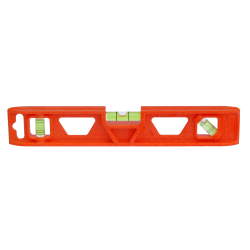 Orange torpedo bubble level