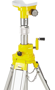 Laser Level Tripod Heads Flat Head, Dome Head and Threaded Base