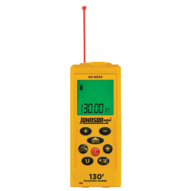 Laser distance measurer from Johnson Level