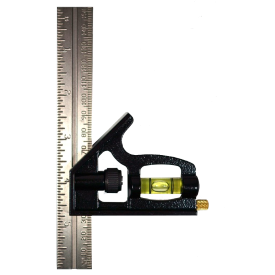 Combination square with spirit level for sale