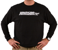 Johnson Long-Sleeved Black T-Shirt