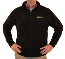 Johnson Black Fleece Jacket
