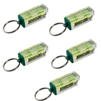 Johnson Level Vial Keychain 5-Pack