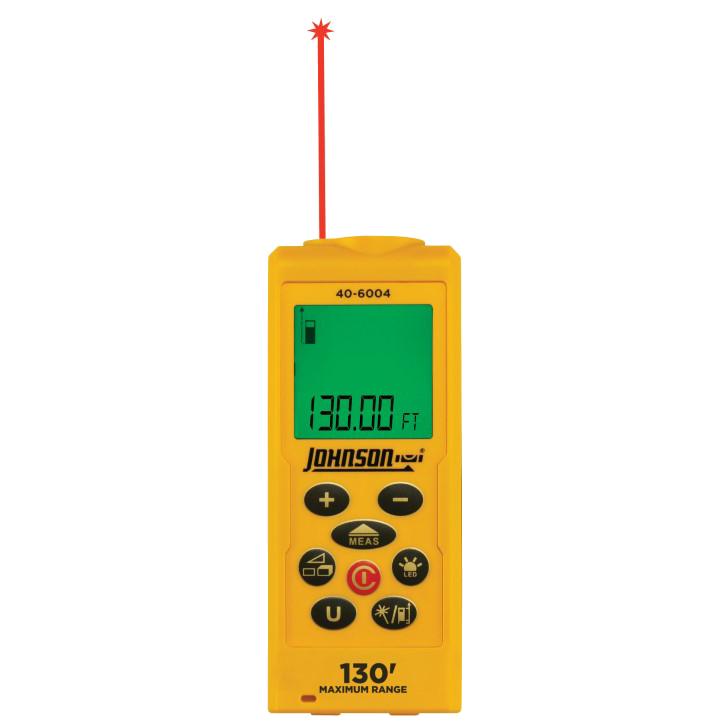 Laser Measuring Instruments : Laser distance measure johnson level