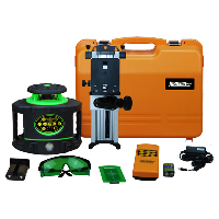 green rotary laser level kit image