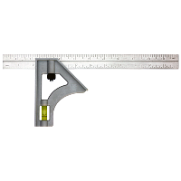 stainless steel combination square image