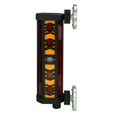 Machine Mountable 360 Degree Detector with Clamp and Magnet