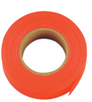 GloOrange Flagging Tape