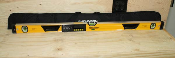 Johnsons Digital Level with Glo-View Model #40-6048