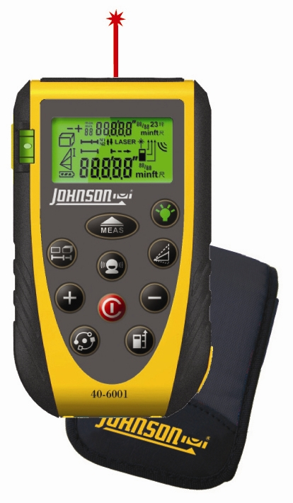 Digital Distance Measuring Devices : Johnson level introduces a new laser distance measure