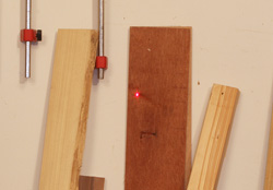 This Laser Distance Measure projects a concentrated laser beam to allow the user to take an accurate measurement and to know where they are pointing the laser.