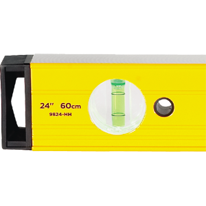 Magnetic Aluminum Box Beam Level Model 9500 with Protective End Caps