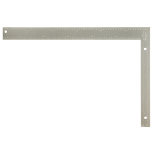 Metric aluminum carpenter square from Johnson Level
