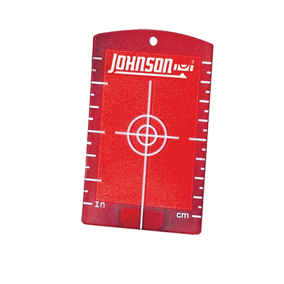 Replacement Laser Level Red Magnetic Target