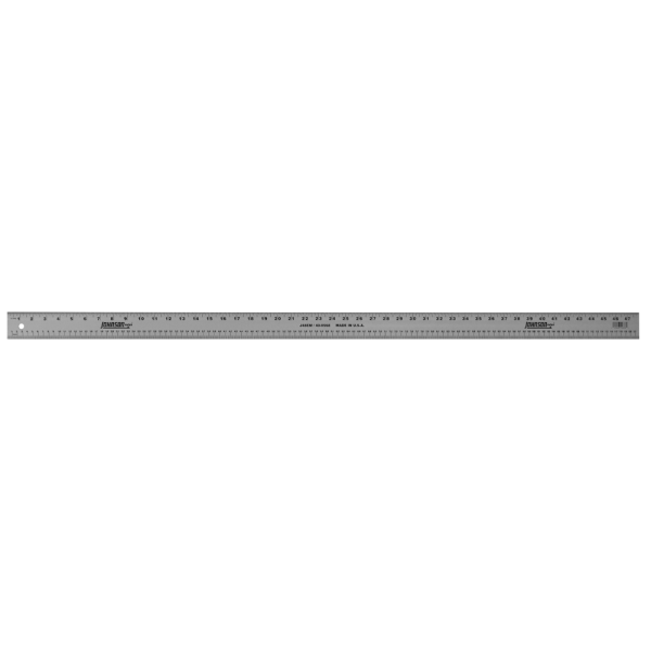 "JOHNSON Metal Ruler Aluminum Straight Edge 60/"" Graduated J60"