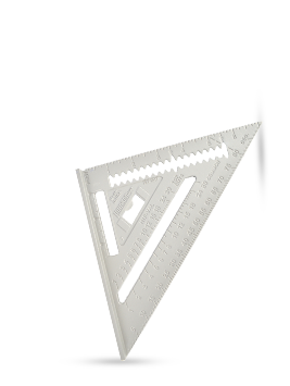 7in Johnny Square™ Professional Aluminum Rafter Square