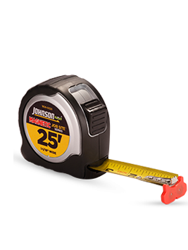 BIG J™ Stainless Steel Case Power Tape 25ft
