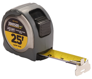 Big J Stainless Steel Case Power Tape Measure by Johnson Level